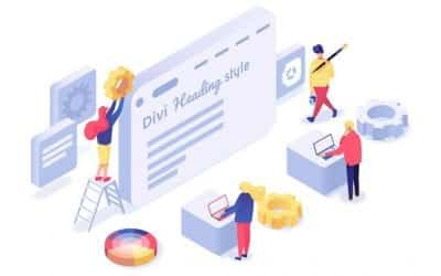 Divi Heading Styles with Divi Heading Module